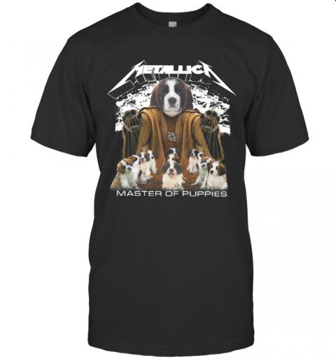 St. Bernard Metallica Master Of Puppies shirt Classic Men's