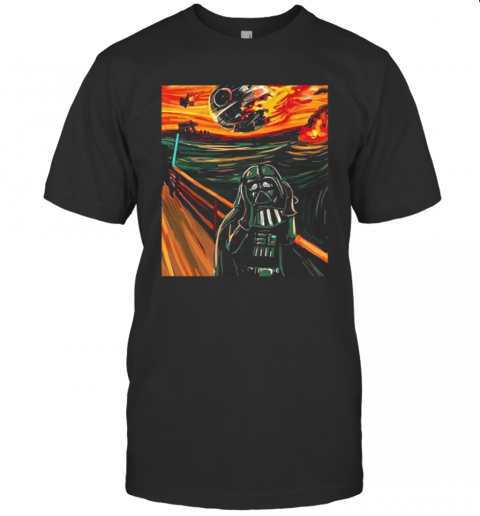 Darth Vader Scream Star Wars Art shirt Classic Men's