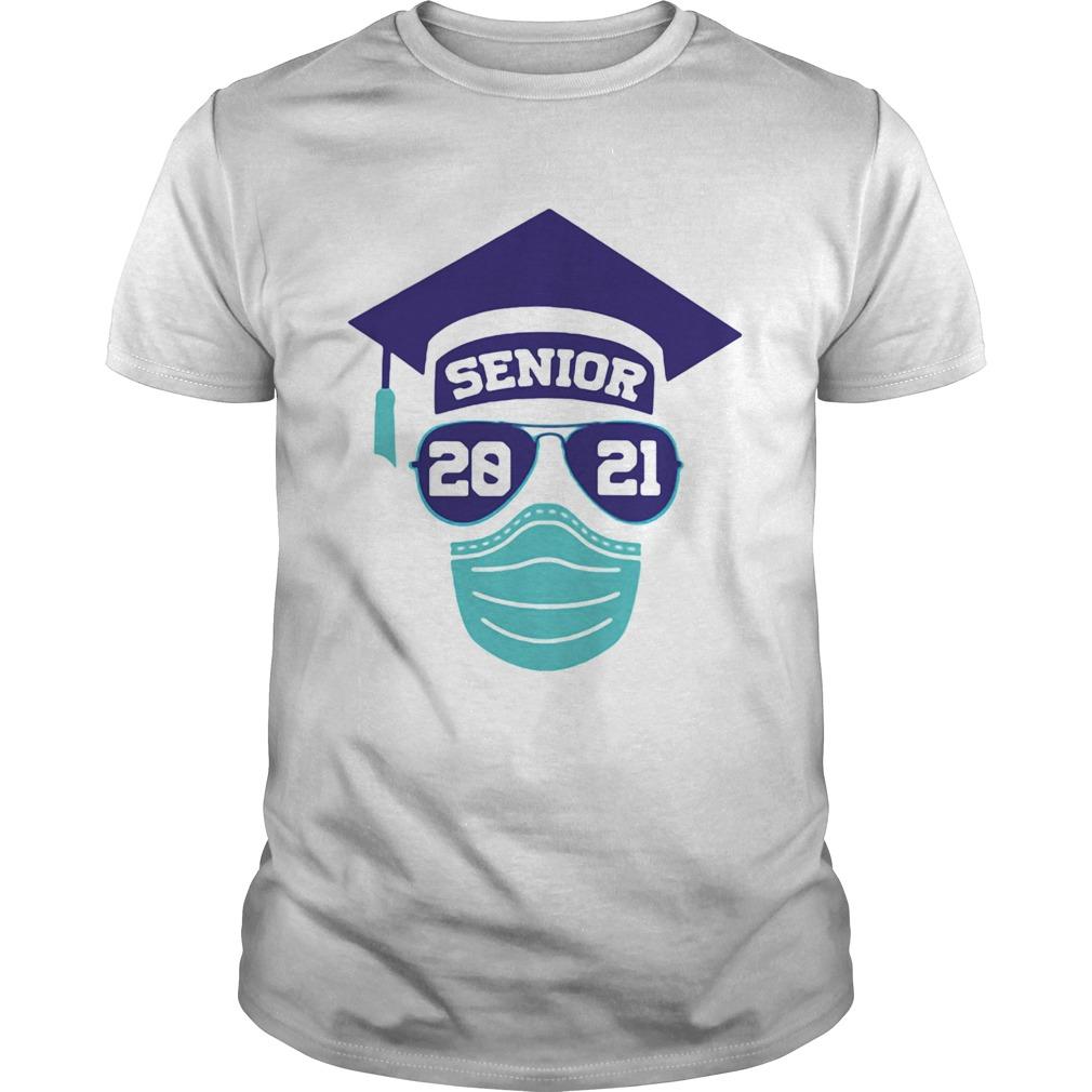 SENIOR 2021 SUNGLASSES MASK GRADUATION shirt Classic Men's