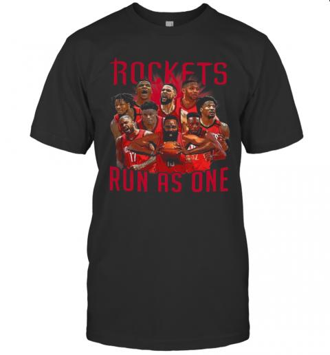 Rockets Run As One shirt Classic Men's