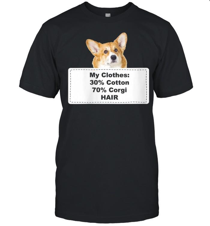 Shedding Dog Corgi shirt Classic Men's T-shirt