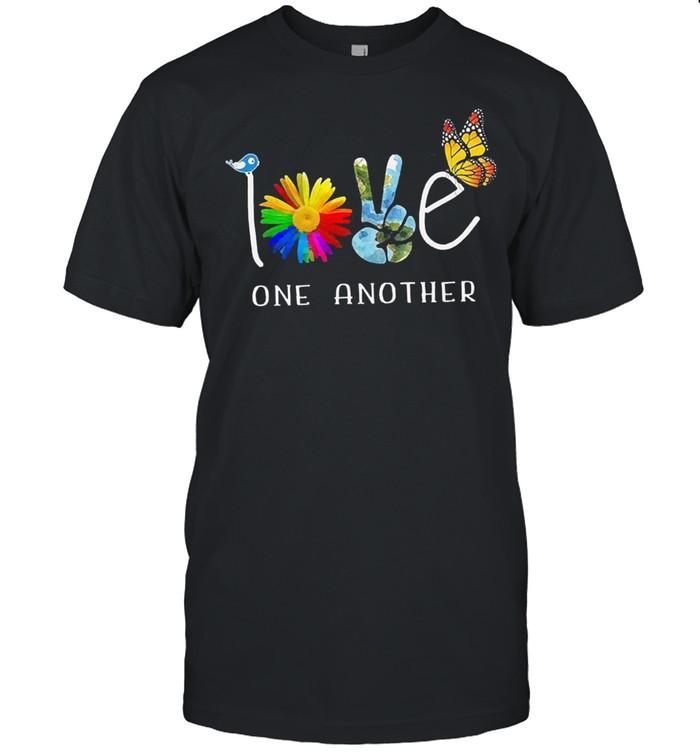 Sunshine world love one another shirt Classic Men's T-shirt