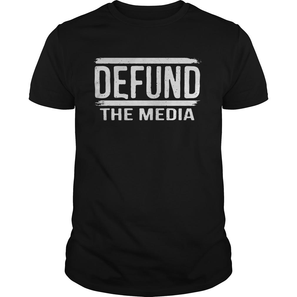 Defund The Media shirt Classic Men's