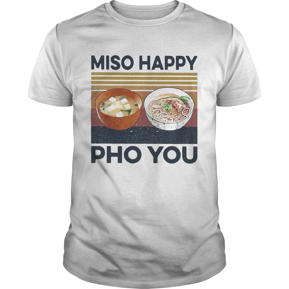 Miso Happy Pho You shirt Classic Men's