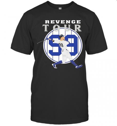 Aaron Judge Revenge Tour shirt Classic Men's