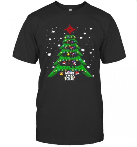 Christmas Tree Metallica Me Xmas For All shirt Classic Men's