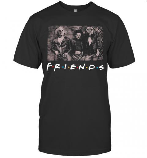 Jack Skeleton And Friend Halloween shirt Classic Men's