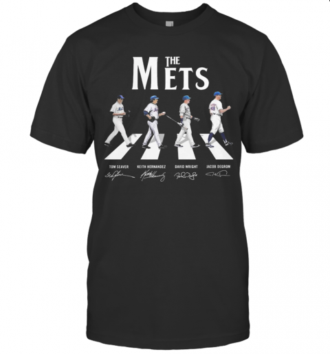 Abbey Road The Mets Signature shirt Classic Men's
