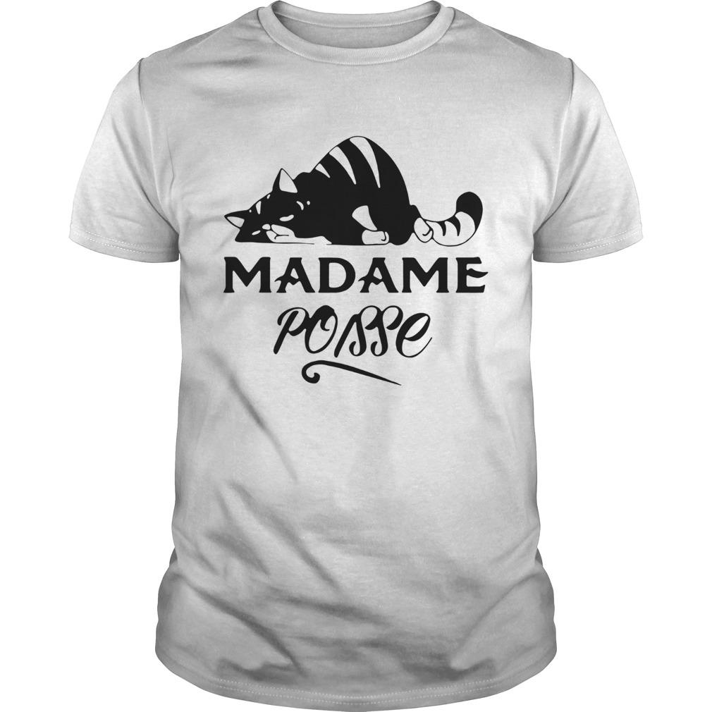 Black Cat Madame Poisse shirt Classic Men's