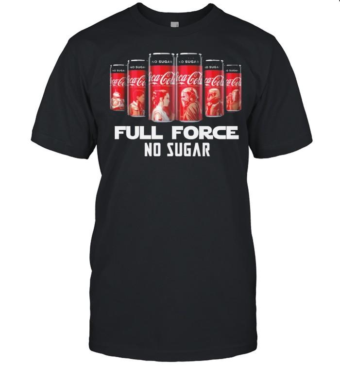 Coca Cola Full Force No Sugar  Classic Men's T-shirt