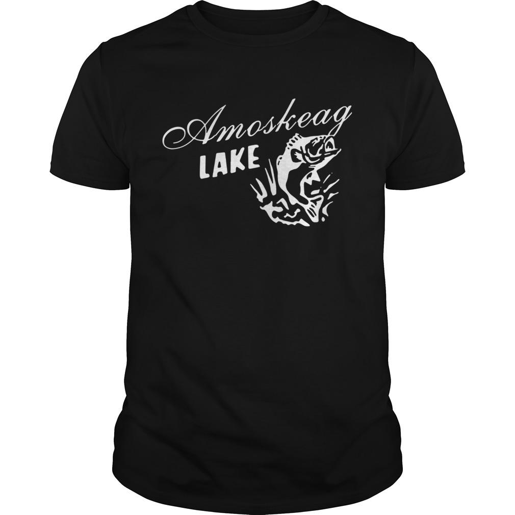 Grown up amoskeag lake shirt Classic Men's