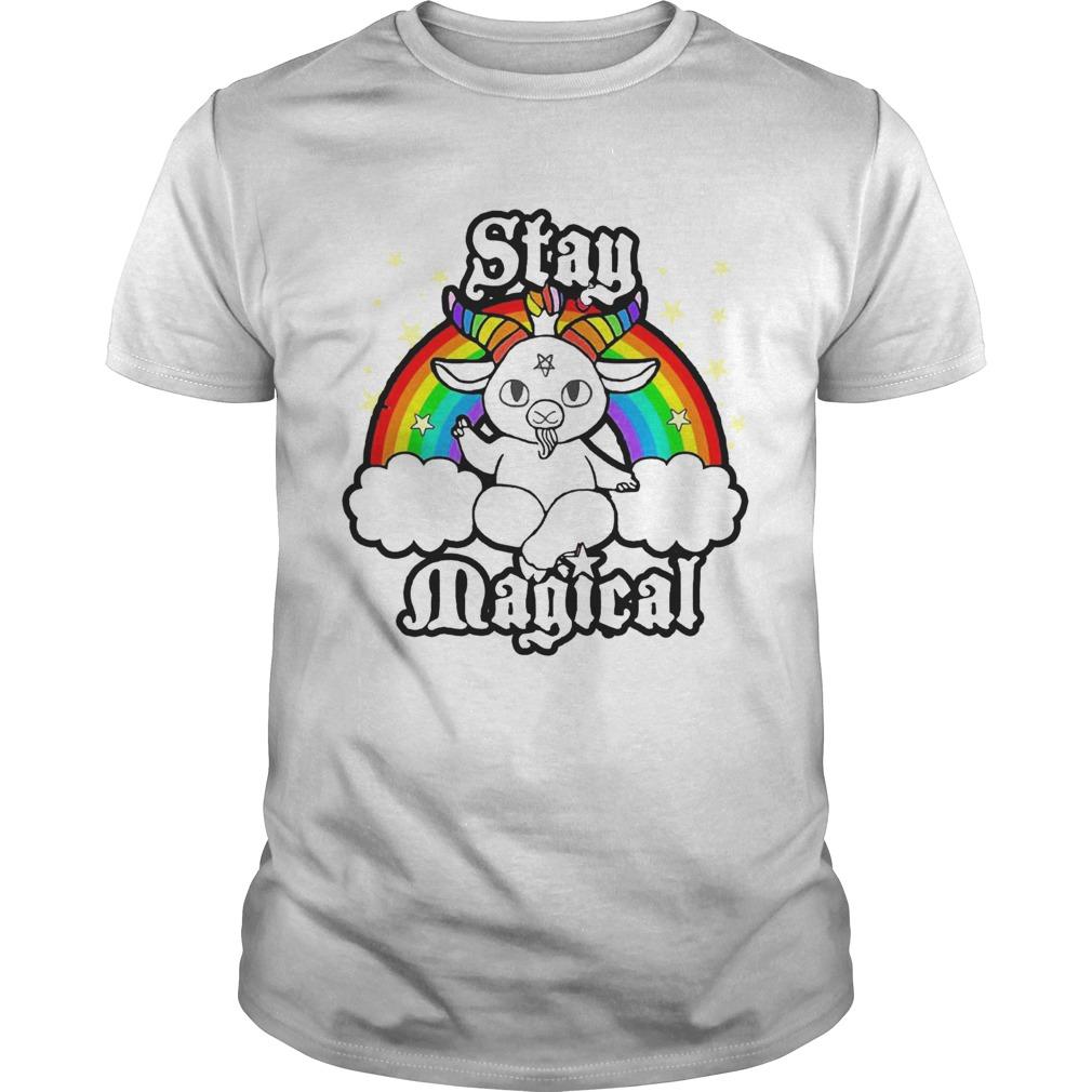 LGBT Satan Baphomet Stay Magical shirt Classic Men's