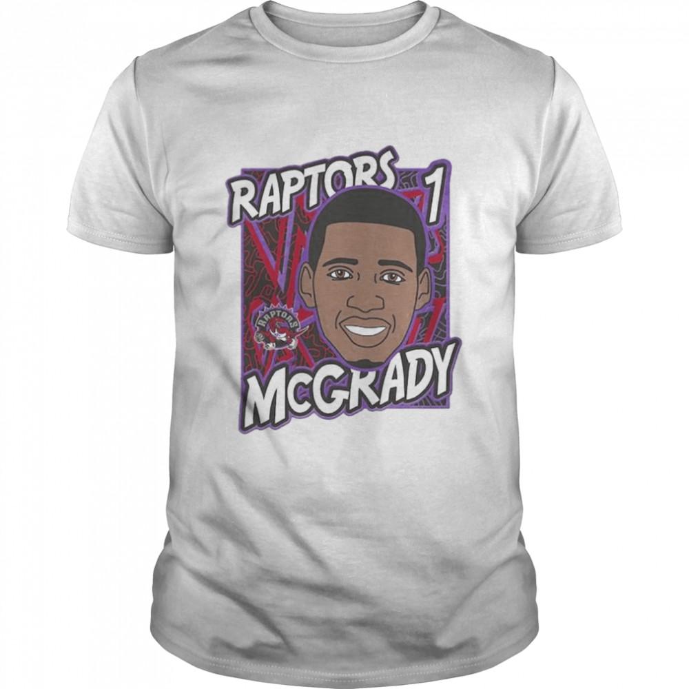 Toronto Raptors Tracy McGrady King of the Court player shirt Classic Men's T-shirt