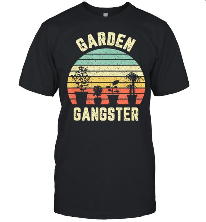 Garden Gangster Vintage Retro shirt Classic Men's T-shirt