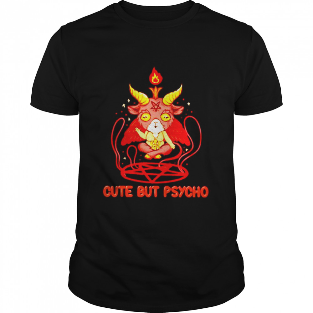 Cute But Psycho Winners Kawaii Baphomet  Classic Men's T-shirt