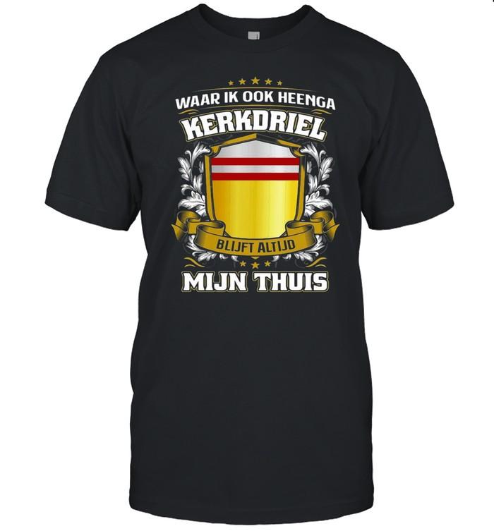 Waar Ik Ook Heenga Kinrooi Blijft Altijd Mijn Thuis  Classic Men's T-shirt